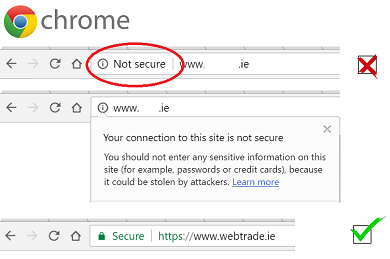 Chrome security update impacts sites with password logins or